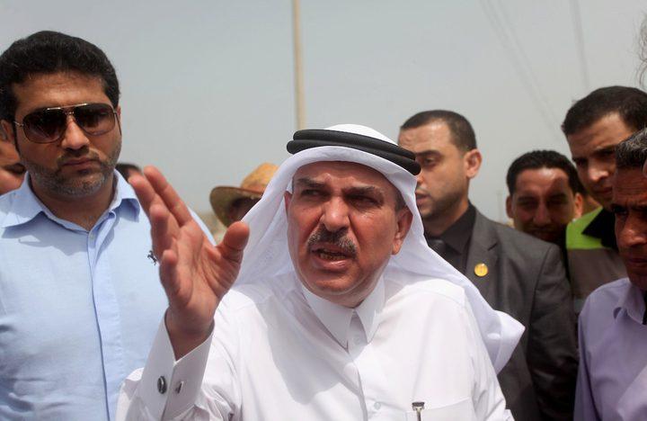 السفير القطري محمد العمادي يصل إلى قطاع غزة
