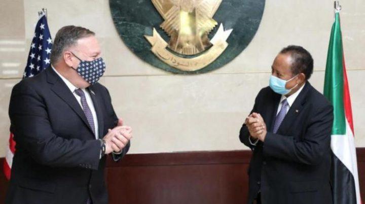 """مصدر أمريكي: التطبيع بين """"إسرائيل"""" والسودان مسألة وقت فقط"""