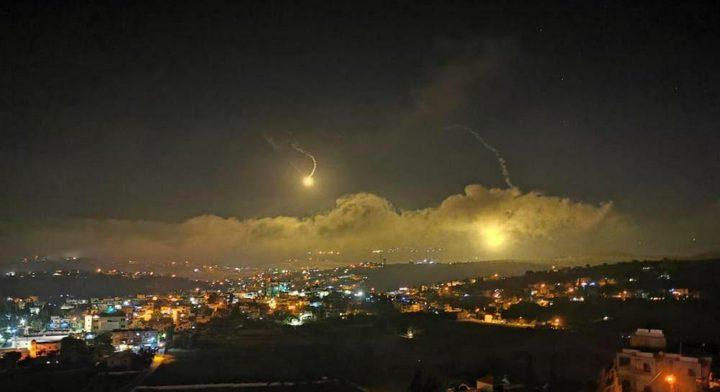 جيش الاحتلال يقصف مواقع لحزب الله في لبنان
