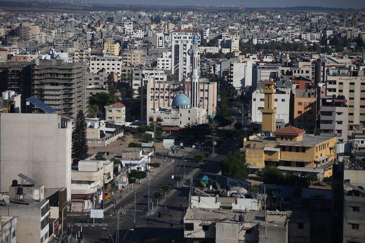 الاضراب الشامل يعم قطاع غزة