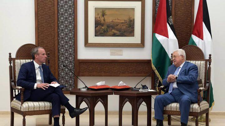 حواش: بريطانيا تسعى لإعادة الفلسطينيين والاسرائيليين للمفاوضات