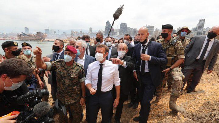 ماكرون يضع خارطة طريق للإصلاح في لبنان