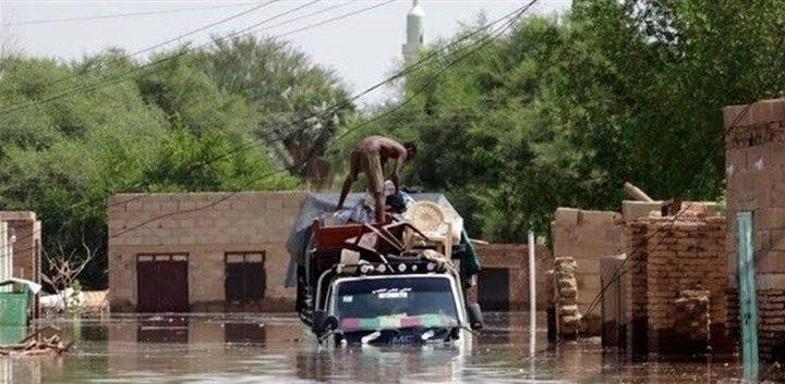 مصرع 86 شخصا جراء الأمطار الغزيرة في السودان