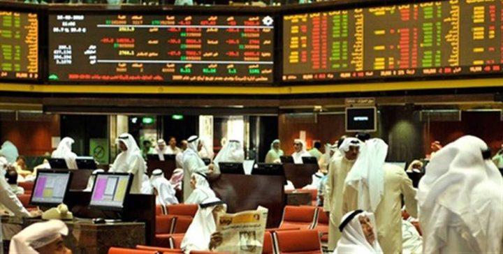 هبوط بورصات الخليج وبورصة دبي الأكثر انخفاضا