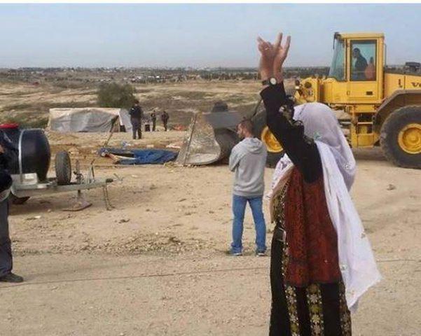 للمرة 177.. قوات الاحتلال تقتحم وتهدم العراقيب في النقب