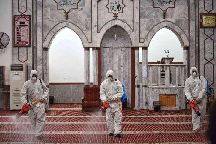 الاوقاف تؤكد استمرار اغلاق المساجد في قطاع غزة بسبب كورونا
