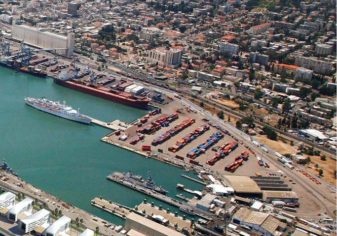 وفاة عامل اثر اصابته من باب حديدي لسفينة في ميناء حيفا