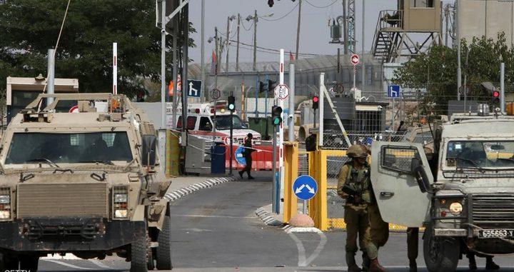 اغلاق حاجز حوارة جنوب نابلس عقب انتشار مكثف للمستوطنين