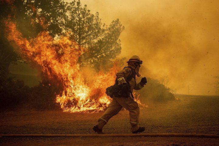 الاحتلال يزعم: 17 حريقًا في غلاف غزة بفعل البالونات الحارقة