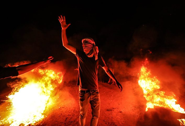 سخط شديد من سكان الغلاف تجاه حكومة الإحتلال بسبب البالونات