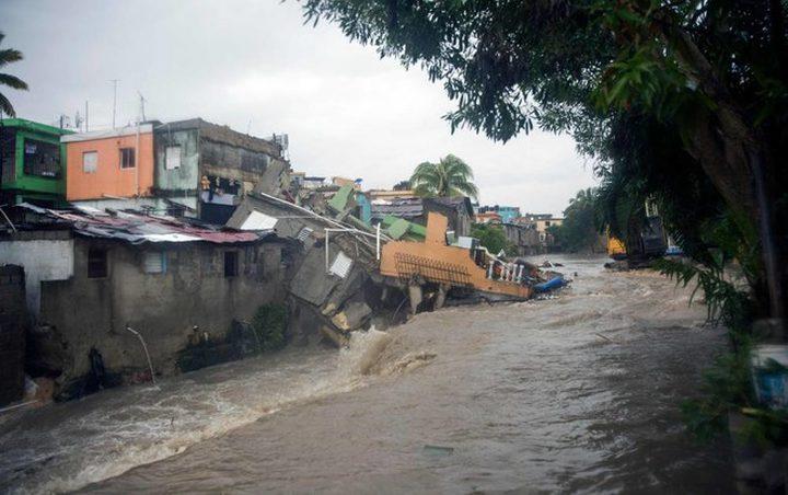 """31 قتيلاً بسبب العاصفة الاستوائية """"لورا"""""""