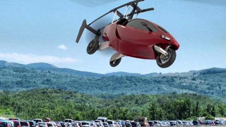 """شاهد شركة يابانية تنجح بصناعة """" الدراجة الطائرة"""""""