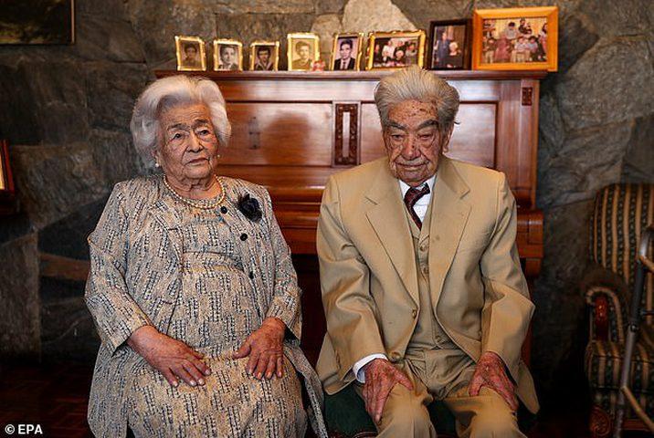 أقدم زوجين في العالم يدخلان موسوعة غينيس للأرقام القياسية