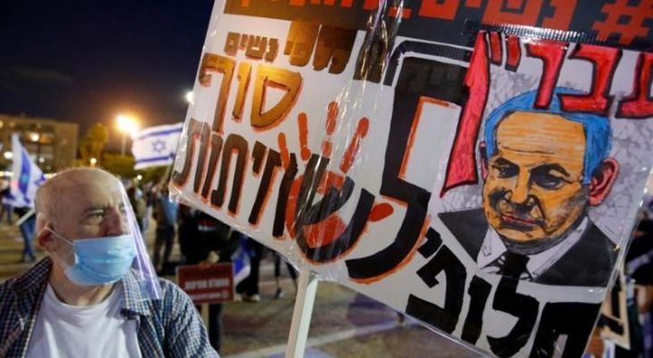 20 ألف متظاهر إسرائيلي يطالبون نتنياهو بالرحيل