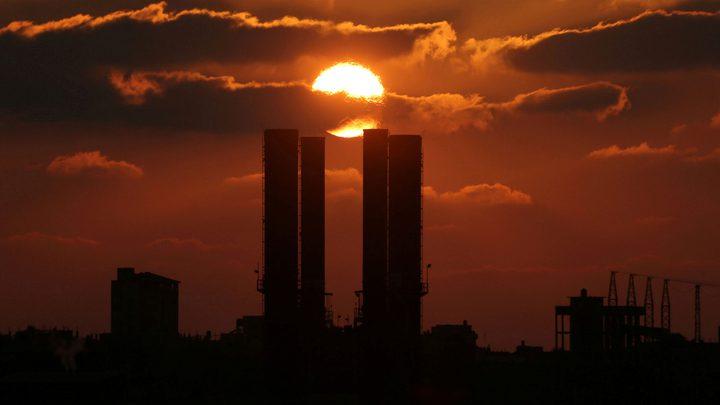 إعادة تشغيل محطة توليد الكهرباء في قطاع غزة