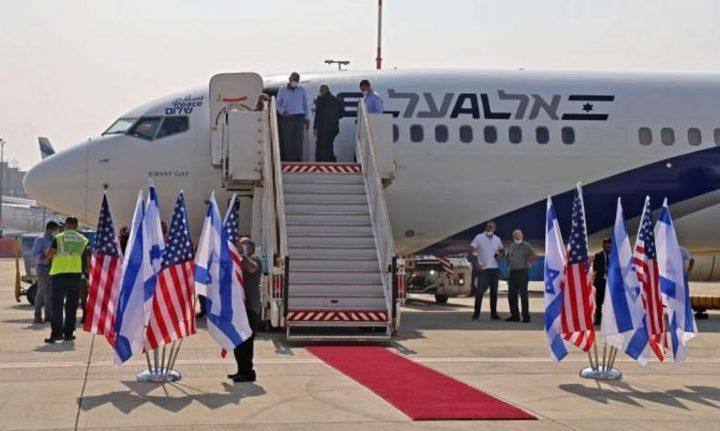 انطلاق أول رحلة جوية مباشرة بين إسرائيل والإمارات