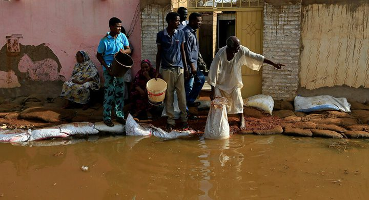 السودان تعلن حالة الاستنفار الكامل بسبب الفيضانات