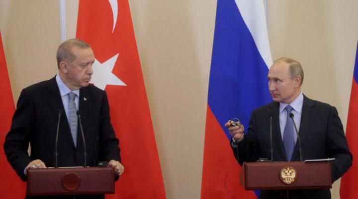 وفد تركي يتوجه إلى روسيا للتباحث حول ليبيا وسوريا