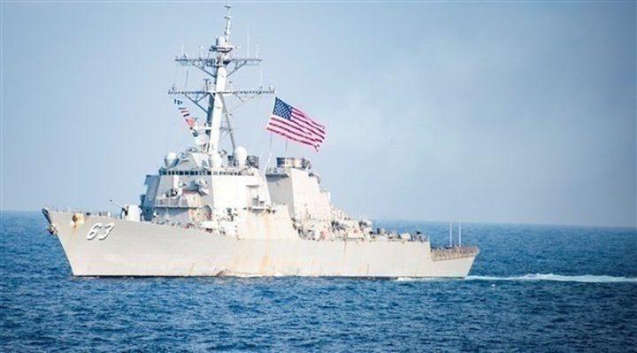 للمرة الثانية.. سفينة حربية أمريكية تعبر مضيق تايوان