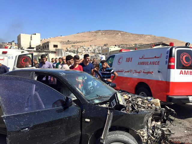 مصرع 4 مواطنين في حادث سير قرب مدخل عزون شرق قلقيلية