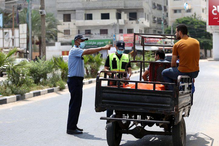 استمرار حظر التجوال في قطاع غزة لمواجهة كورونا