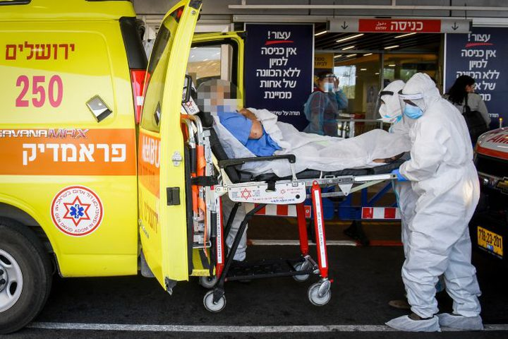 2159 اصابة جديدة بفيروس كورونا في دولة الاحتلال