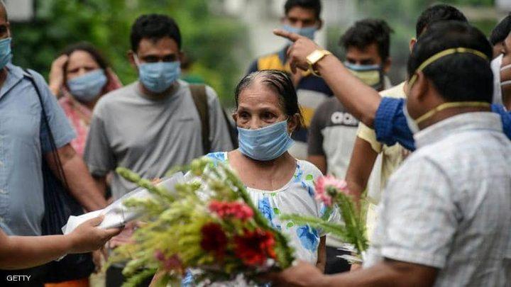 الهند: 819 حالة وفاة و69921 إصابة جديدة بفيروس كورونا