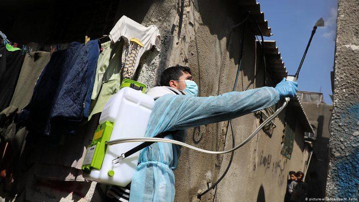 قطاع غزة: تسجيل 6 اصابات جديدة بفيروس كورونا في مخيم البريج