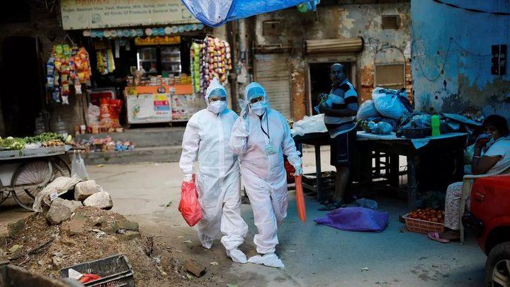 الهند: 1045 حالة وفاة و78357 إصابة جديدة بفيروس كورونا