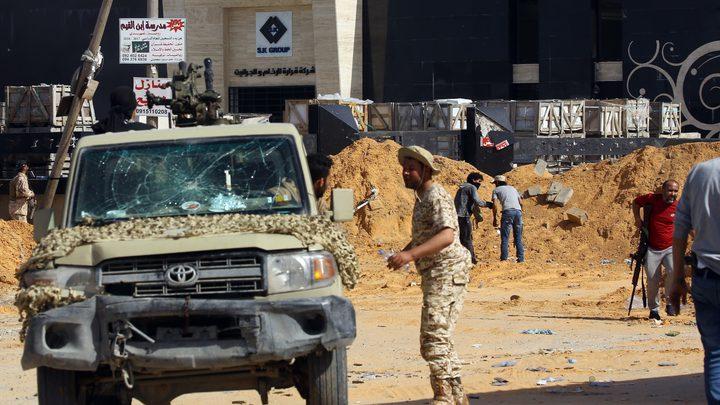 الوفاق الوطني الليبي يتهم قوات حفتر باستهداف غرب سرت ب6 صواريخ