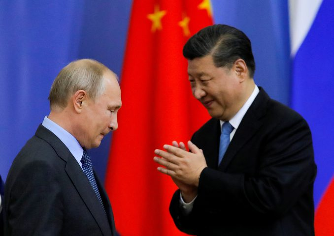 الرئيس الصيني يؤكد على التعاون مع موسكو