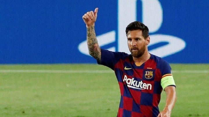 برشلونة يطمئن جماهيره بصورة لميسي