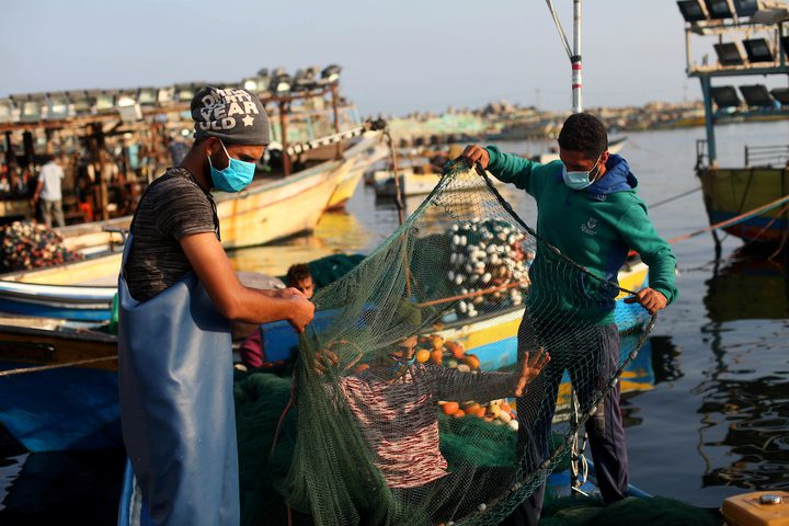 عودة الصيادين للعمل لمسافة 15 ميل بحري بعد اتفاق التهدئة