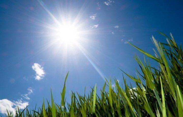 أجواء شديدة الحرارة ودرجات حرارة اعلى من معدلها ب10 درجات