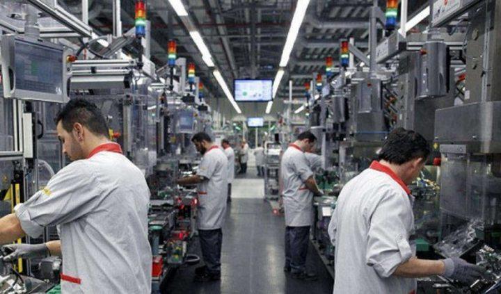ارتفاع الرقم القياسي للانتاج الصناعي خلال شهر تموز بنسبة 6.76%