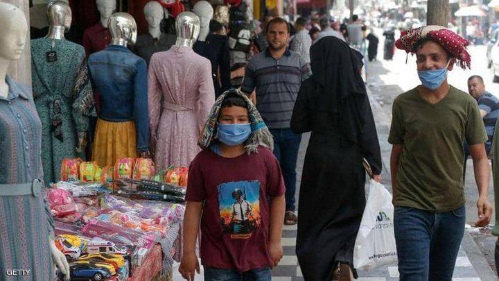تسجيل 98 اصابة جديدة بفيروس كورونا في قطاع غزة