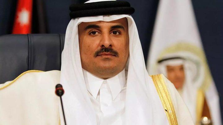 أمير قطر:الدوحة تدعم حل الدولتين وفقا للقانون الدولي