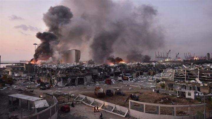 البنك الدولي يقدر حجم خسائر انفجار بيروت بـ 8 مليارات دولار