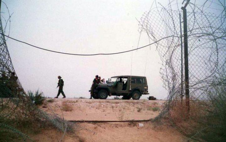 الاحتلال يزعم احباط عملية تسلل قرب سياج غزة