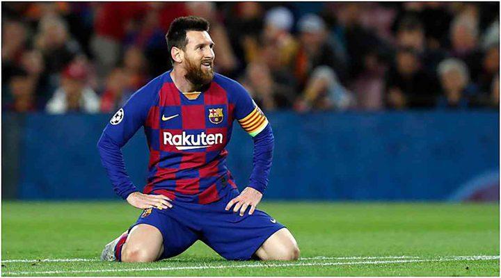 ميسي يقرر البقاء في برشلونة