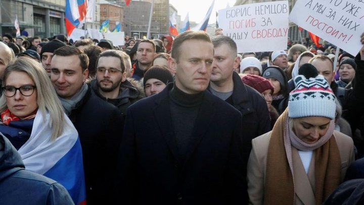 الاتحاد الأوروبي يدعو موسكو للتحقيق بقضية تسميم نافالني