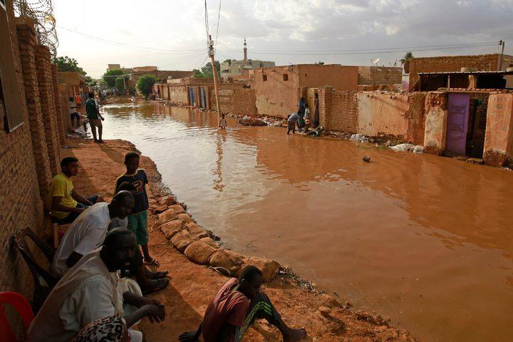 ارتفاع عدد ضحايا السيول والفيضانات في السودان إلى 100