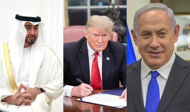 إدراة ترامب تسعى لتسريع توقيع إتفاق تطبيع الاحتلال مع الإمارات