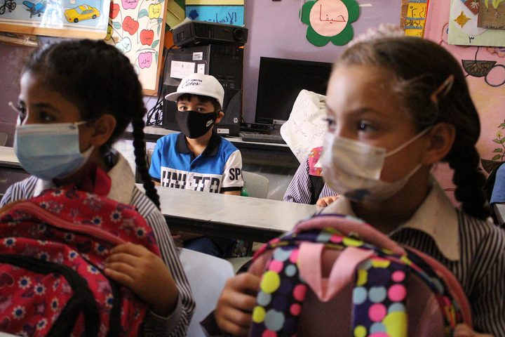 بدء العام الدراسي في الضفة وفق إجراءات صحية ووقائية
