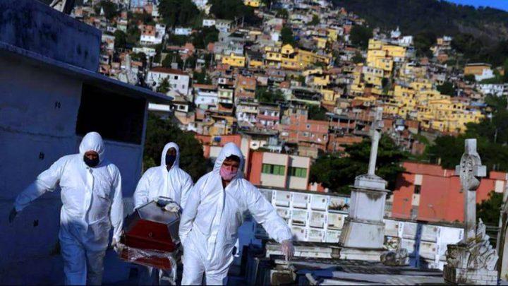 البرازيل تسجل 30168 إصابة بكورونا