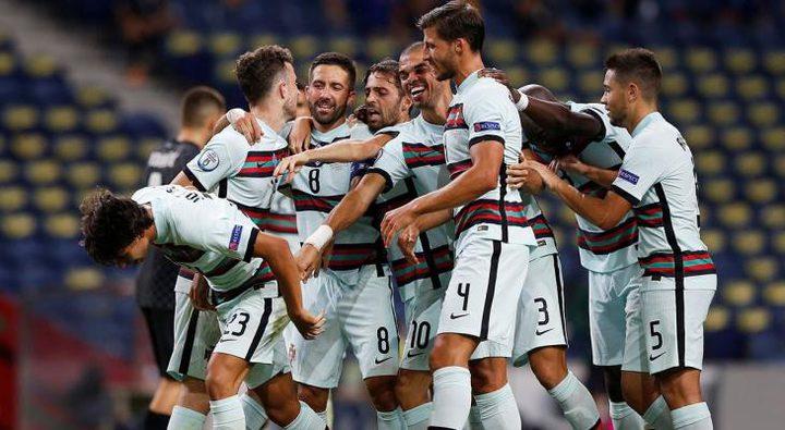 البرتغال تكتسح كرواتيا في دوري الأمم الأوروبية