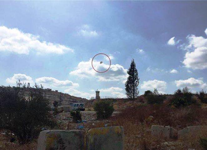 الاحتلال يطلق منطادا لمراقبة تحركات المواطنين جنوب بيت لحم