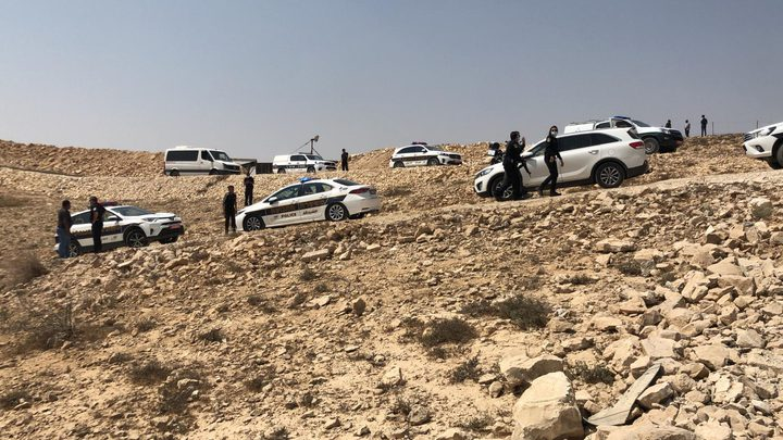 النقب: اصابة 3 أطفال اثر انقلاب سيارة أثناء مطاردة بوليسية
