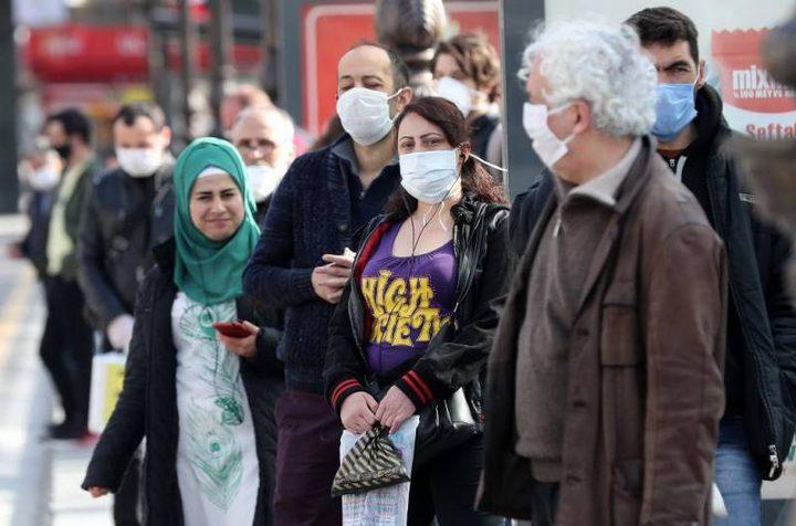 تركيا: تشديد اجراءات محاربة كورونا نتيجة ارتفاع معدل الاصابات