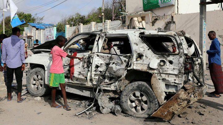 مقتل 5 جنود صومالين في هجوم بسيارة مفخخة في الصومال